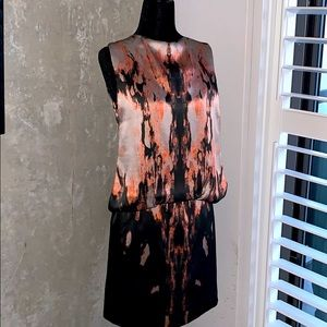 Silk givenchy patterned dress